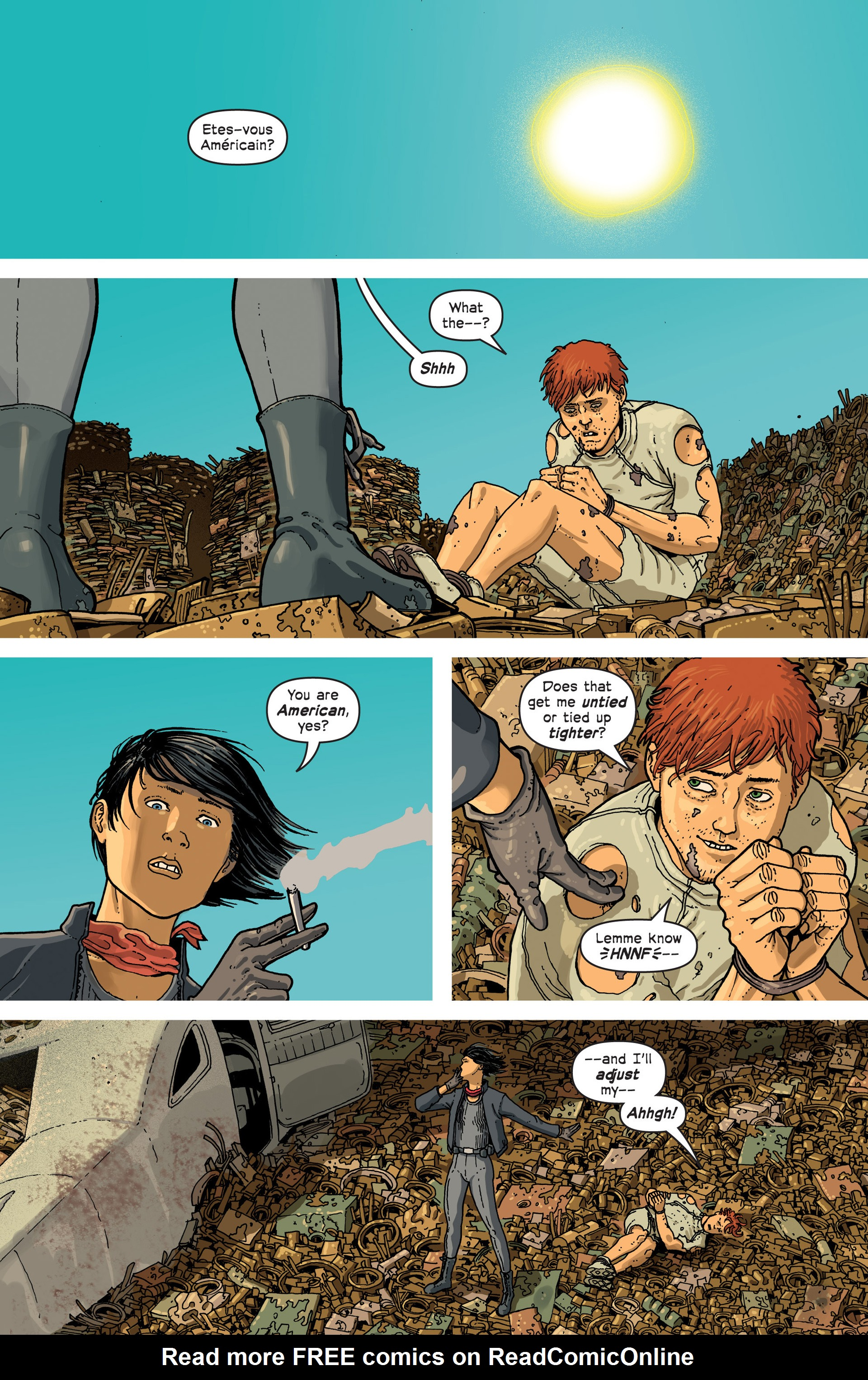 Read online Great Pacific comic -  Issue #3 - 19