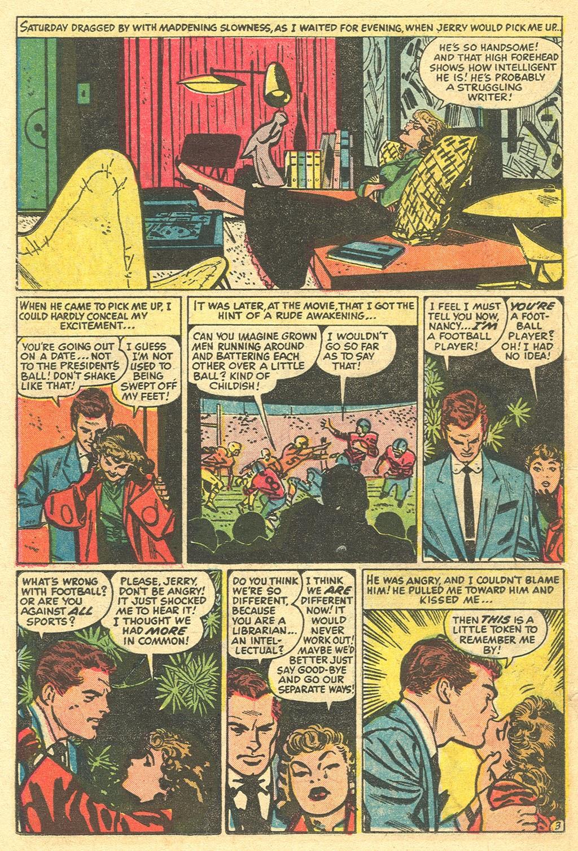 Love Romances (1949) issue 48 - Page 22