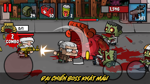 Zombie Age 3 Thời Đại Zombie Hack