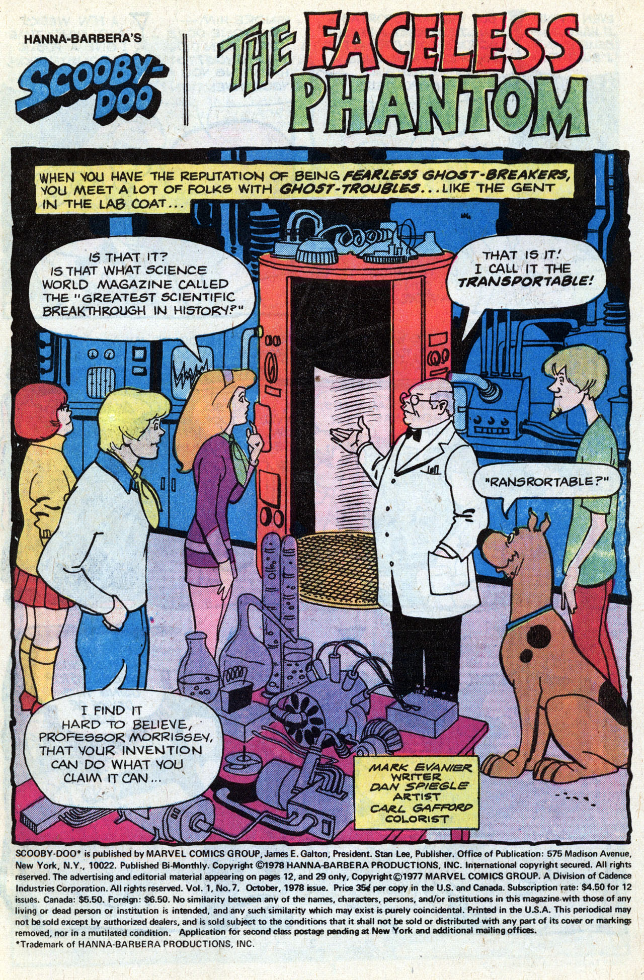 Read online Scooby-Doo (1977) comic -  Issue #7 - 3