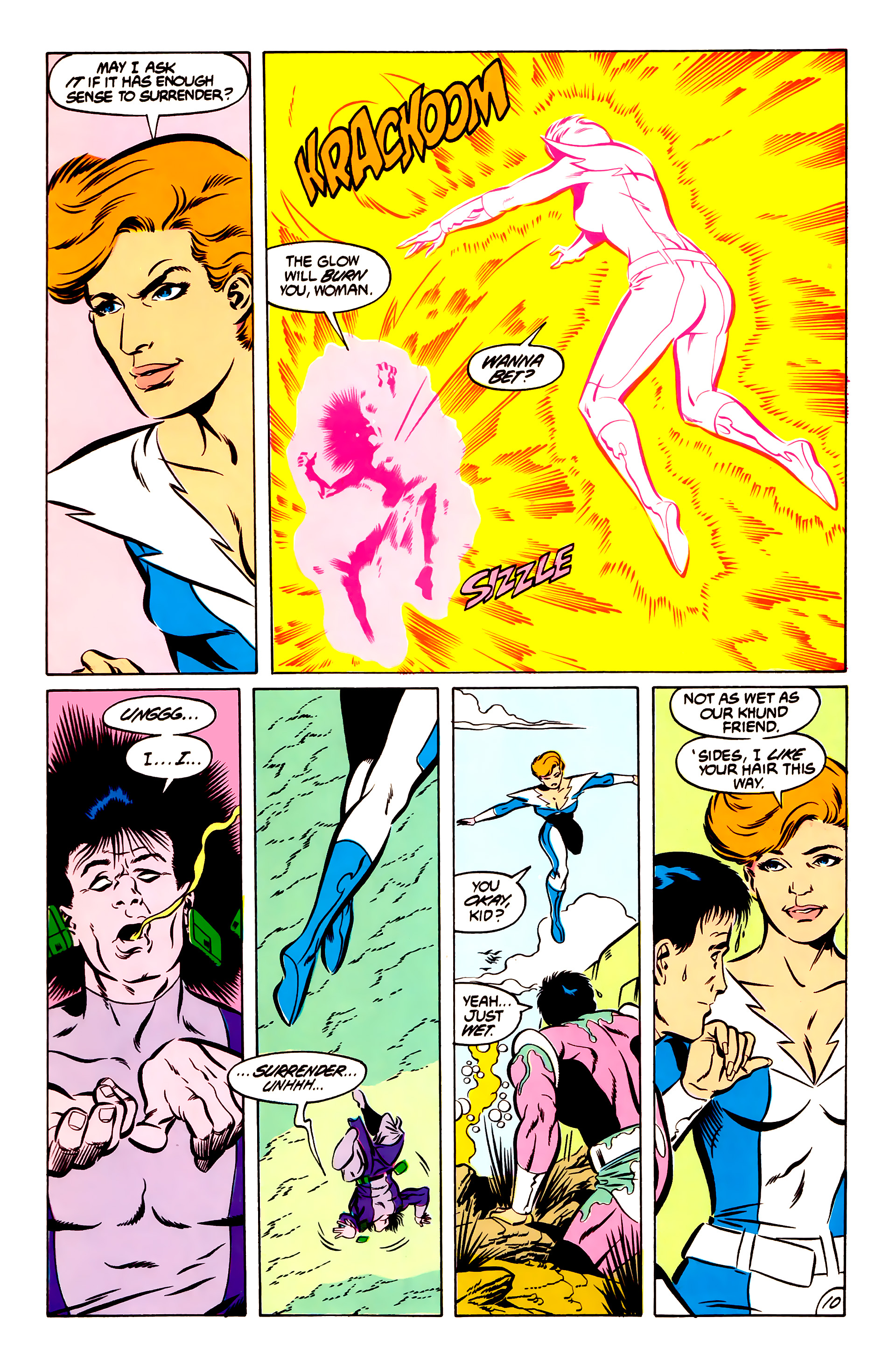 Legion of Super-Heroes (1984) 51 Page 10