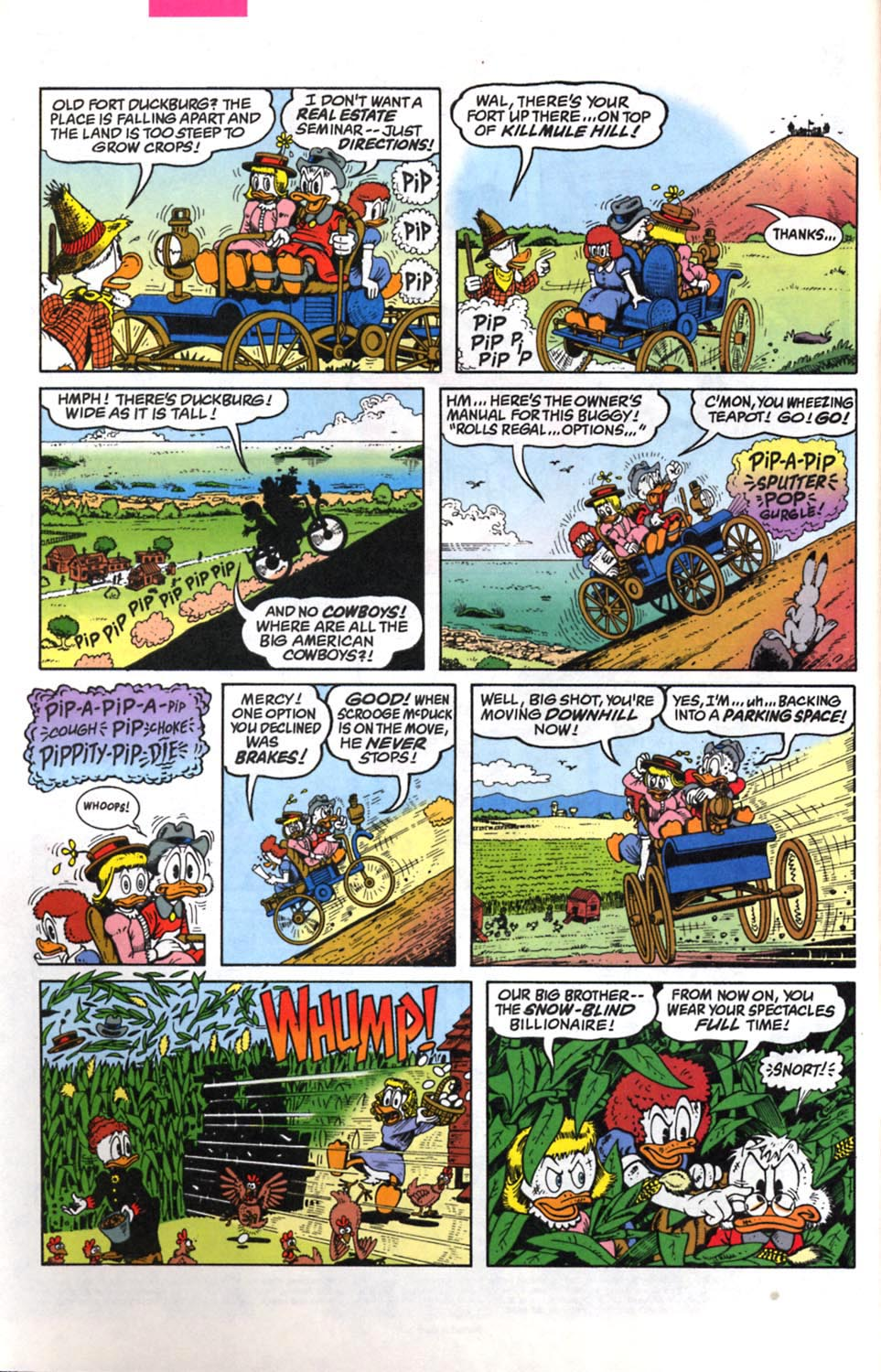 Read online Uncle Scrooge (1953) comic -  Issue #294 - 3