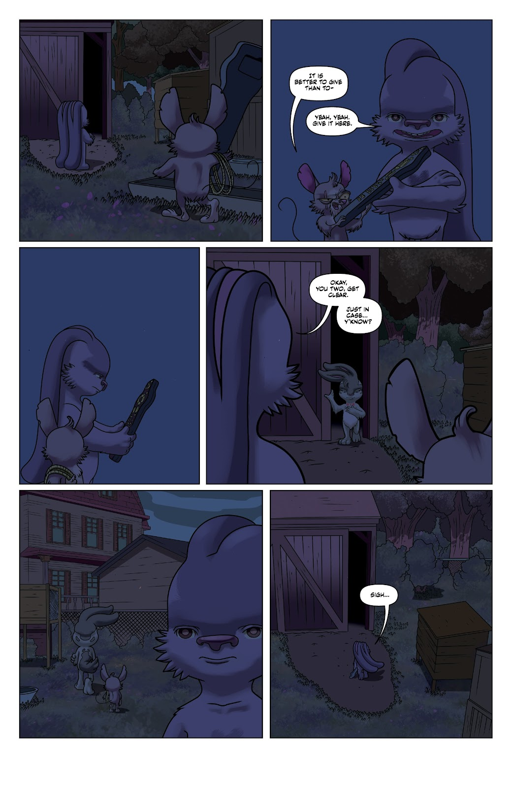 Read online Auntie Agatha's Home For Wayward Rabbits comic -  Issue #5 - 22