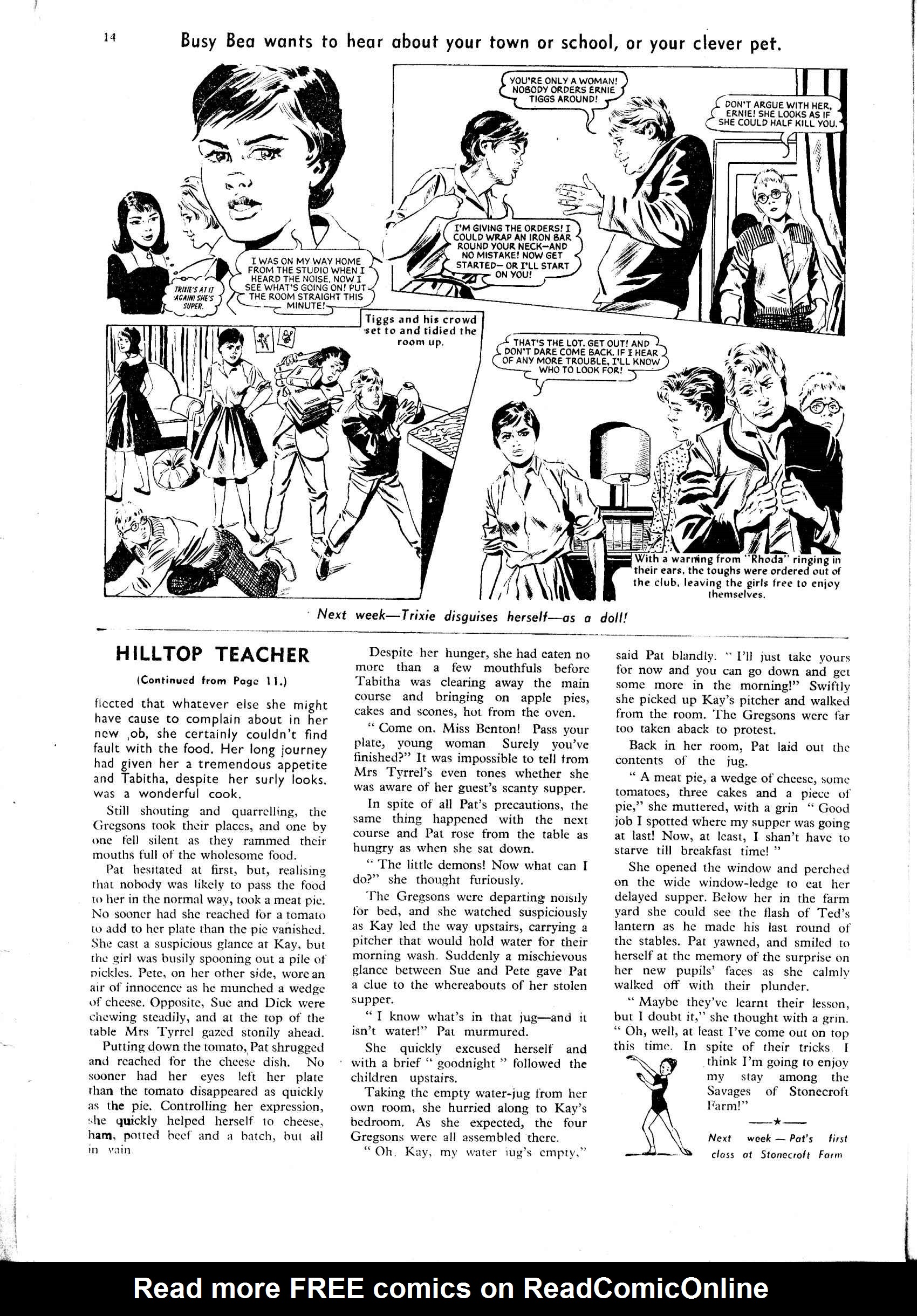 Read online Judy comic -  Issue #47 - 14