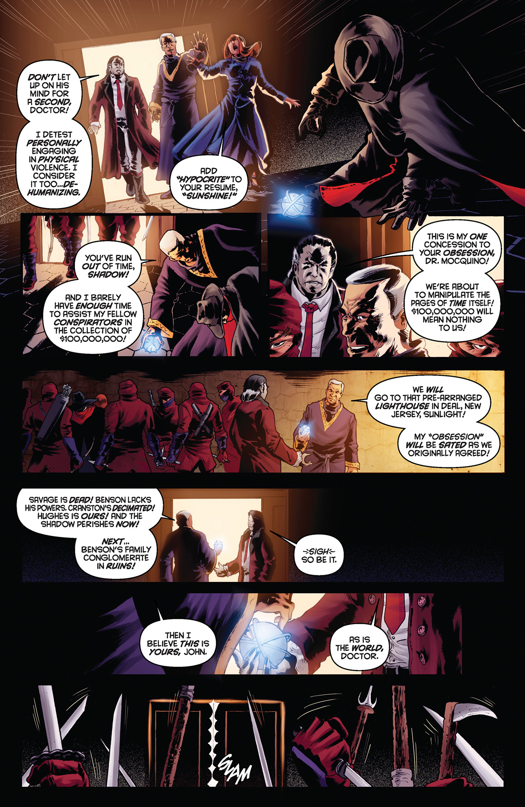 Read online Justice, Inc. comic -  Issue #5 - 19