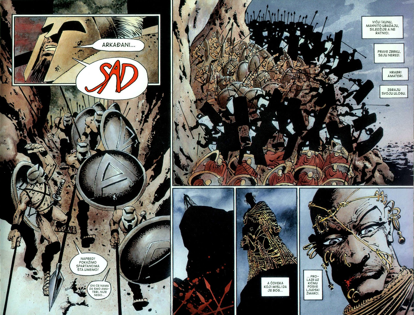 Read online 300 (2007) comic -  Issue # TPB - 60