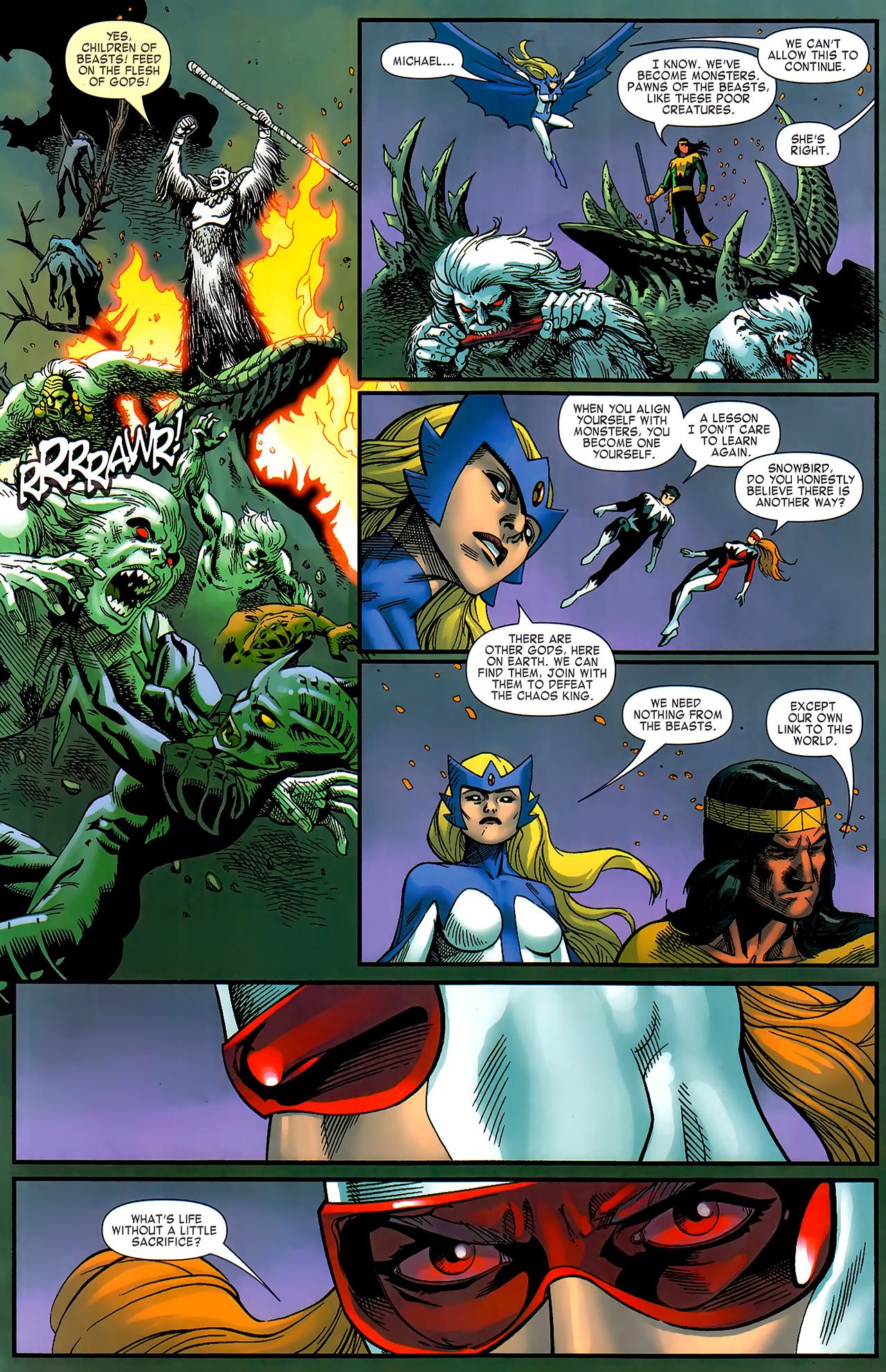 Read online Chaos War: Alpha Flight comic -  Issue # Full - 17