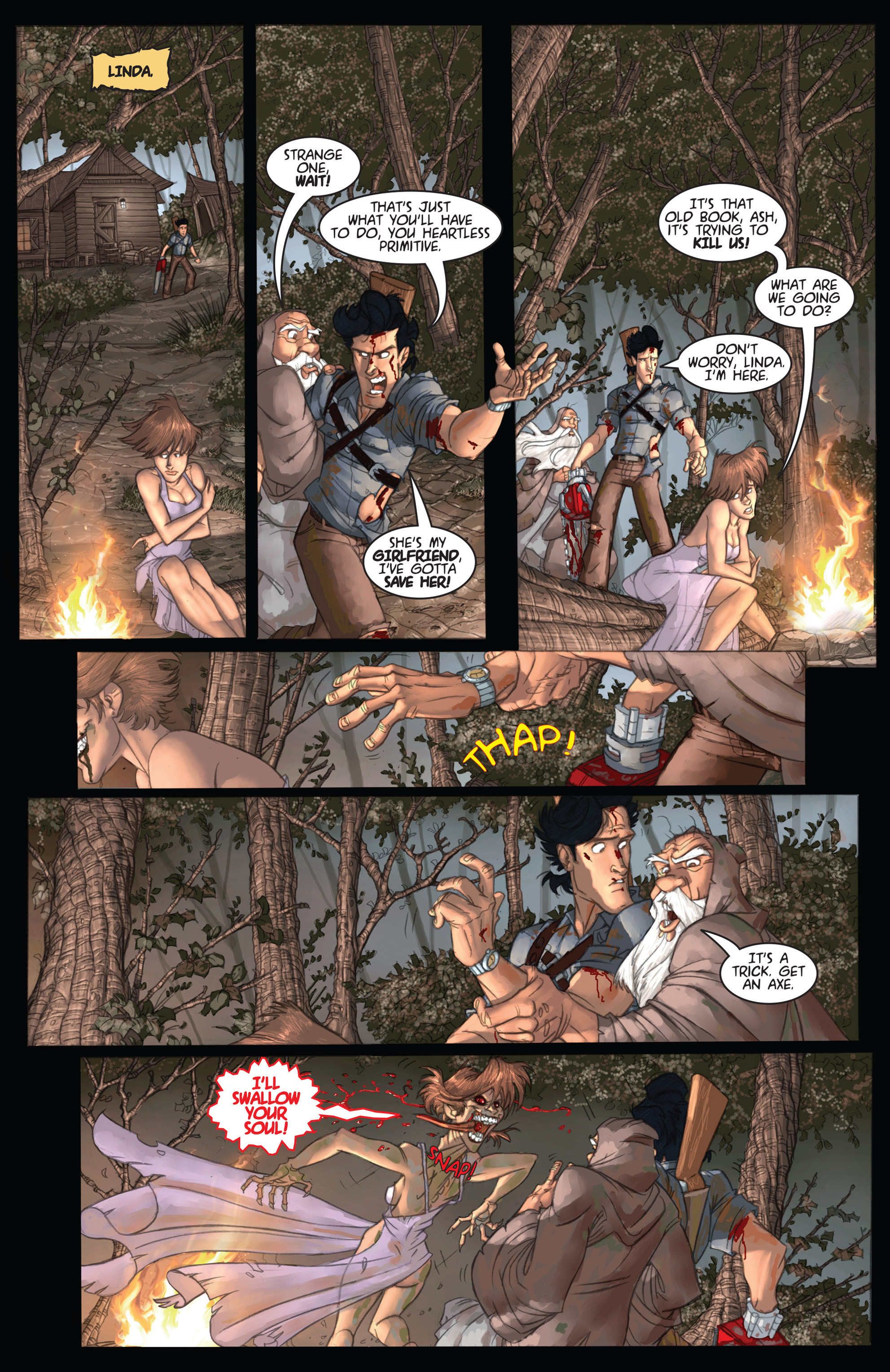 Read online Army of Darkness: Ashes 2 Ashes comic -  Issue #2 - 9