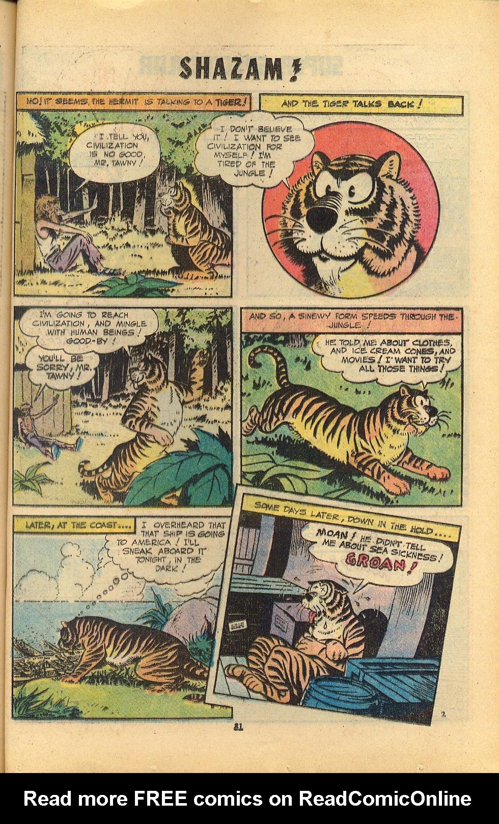 Read online Shazam! (1973) comic -  Issue #8 - 81