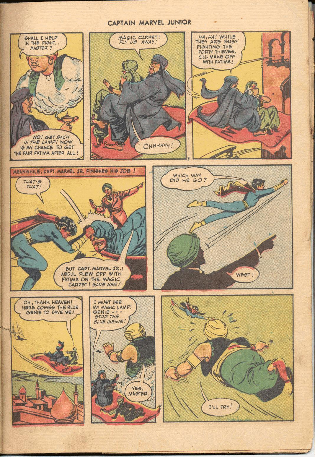 Captain Marvel, Jr. issue 38 - Page 10