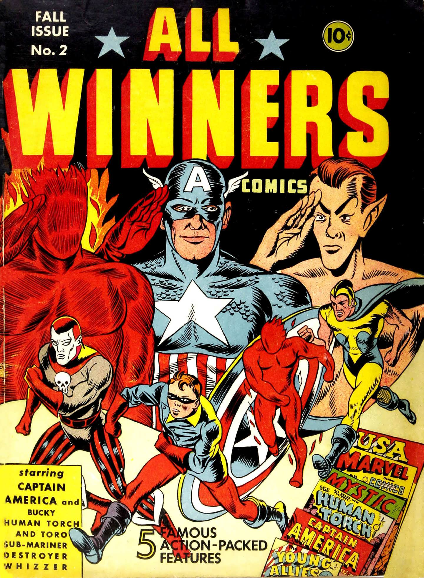 Read online All-Winners Comics comic -  Issue #2 - 1