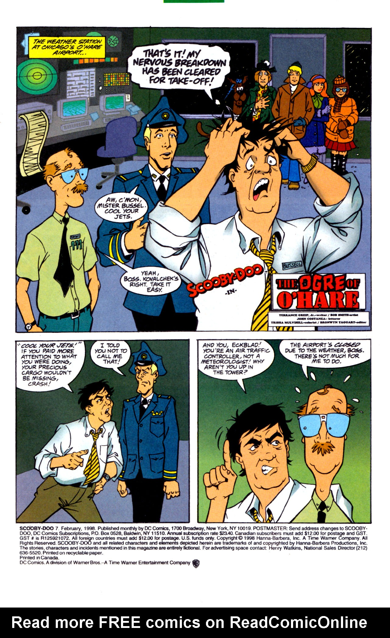 Read online Scooby-Doo (1997) comic -  Issue #7 - 2