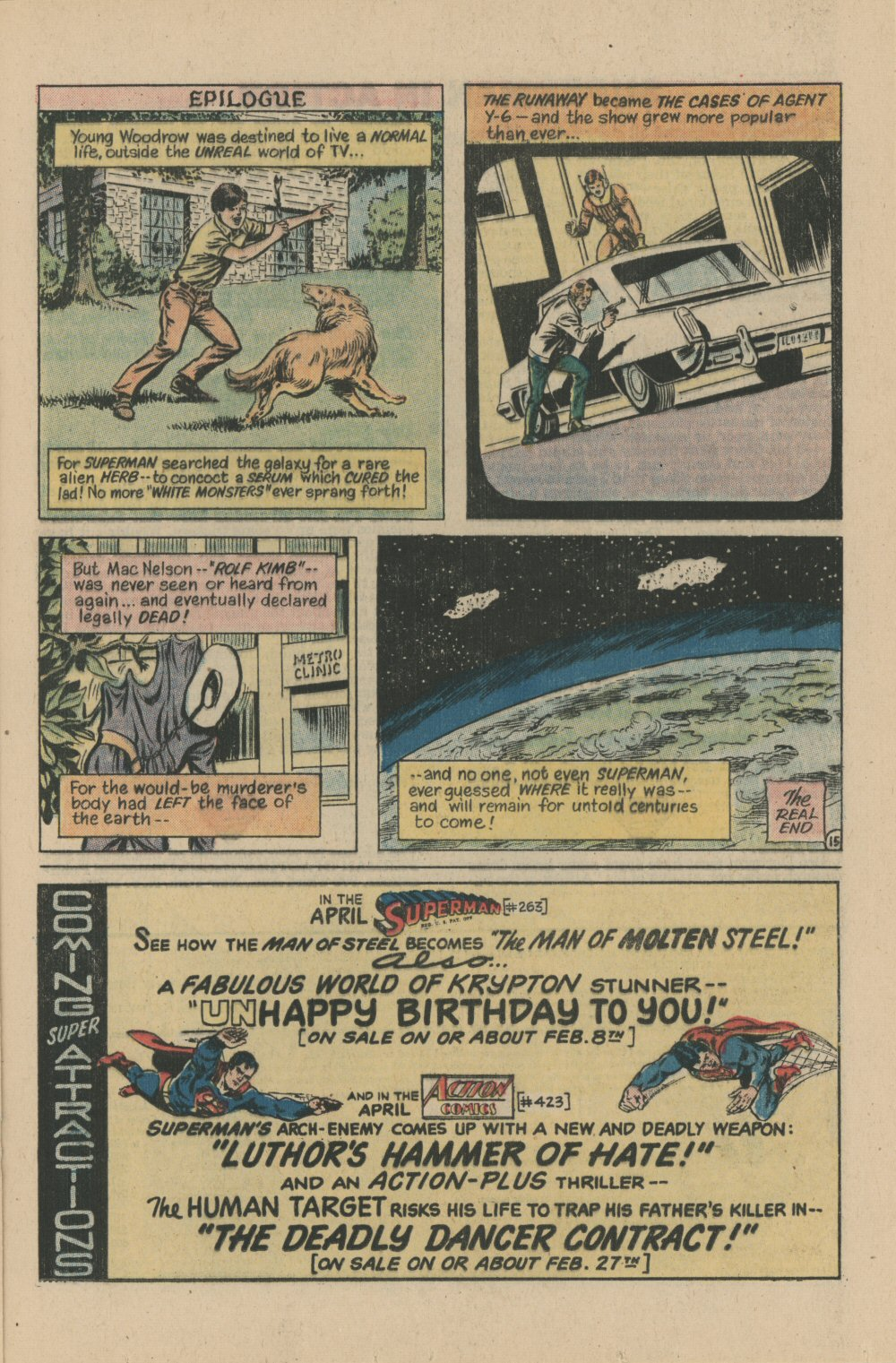 Read online Action Comics (1938) comic -  Issue #422 - 21