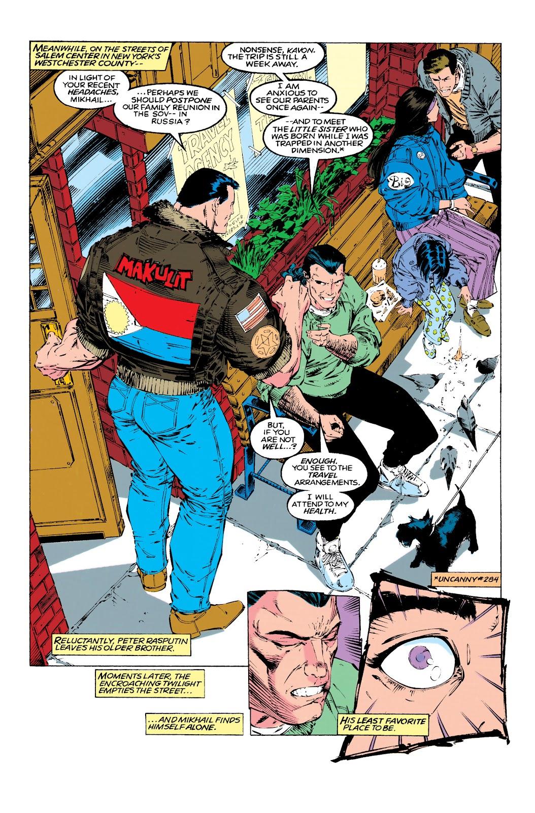 Uncanny X-Men (1963) issue 290 - Page 4