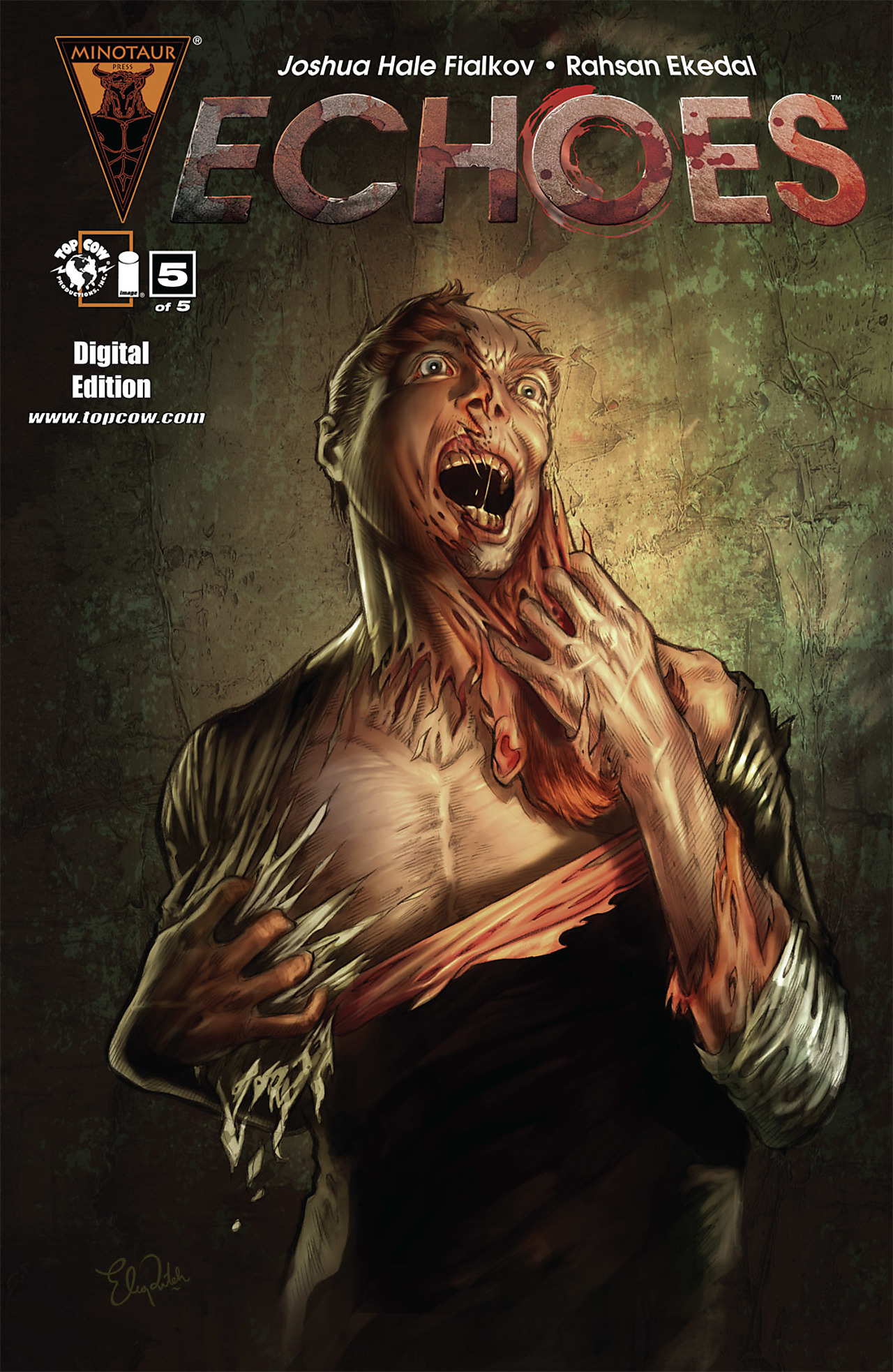 Read online Echoes comic -  Issue # TPB - 111