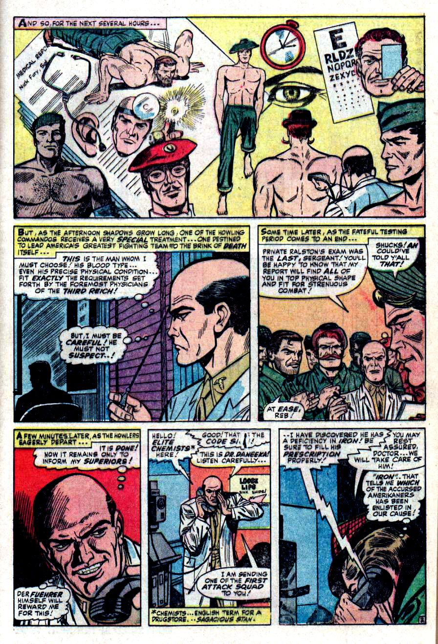 Read online Sgt. Fury comic -  Issue #32 - 5