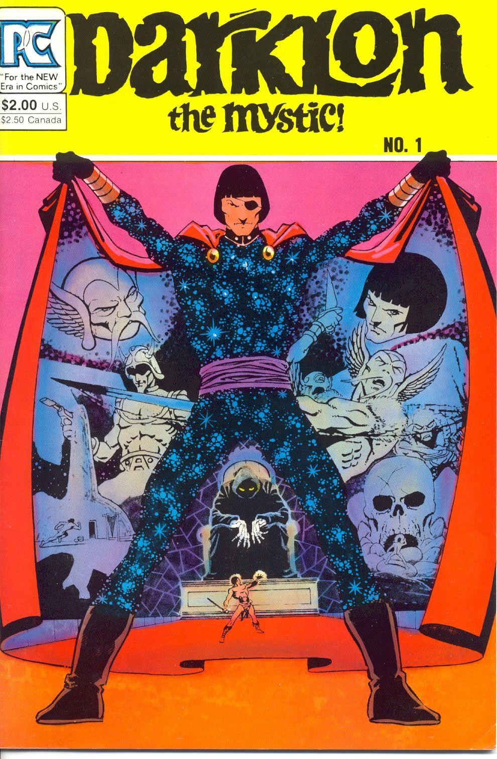 Darklon The Mystic issue Full - Page 1