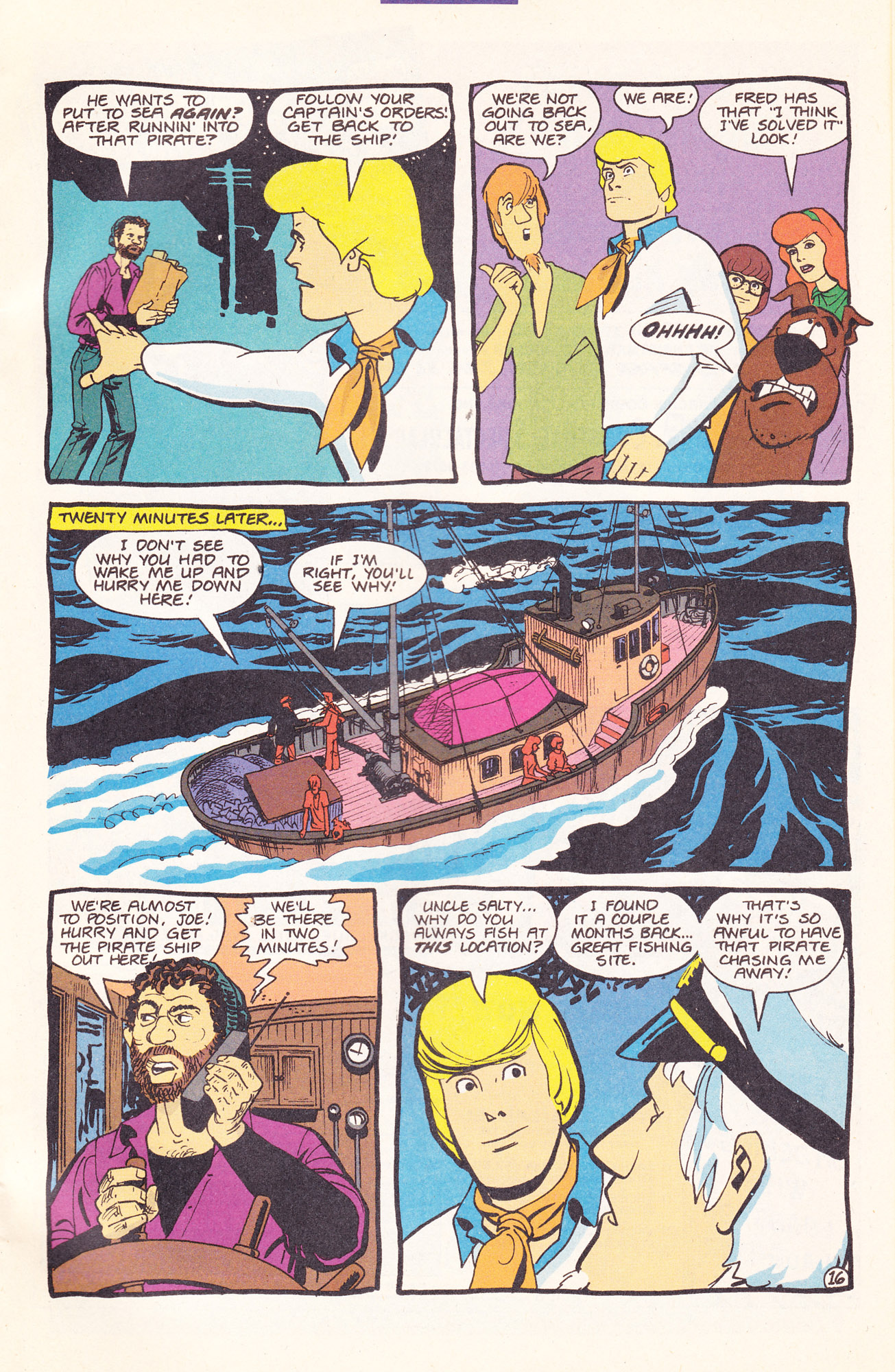 Read online Scooby-Doo (1995) comic -  Issue #17 - 25