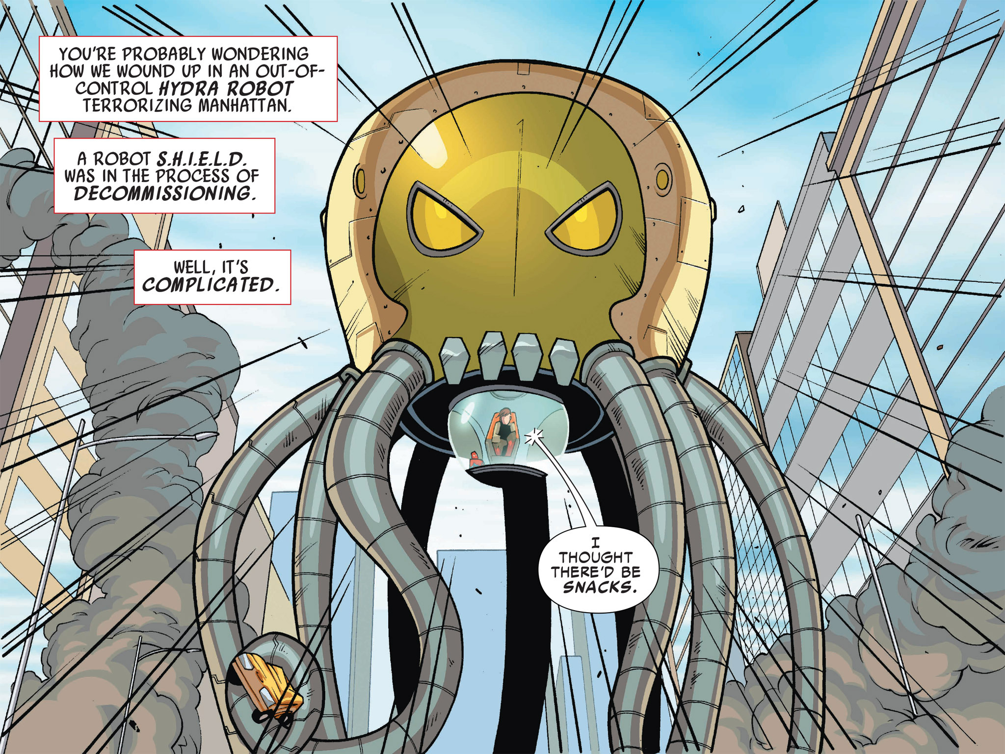 Read online Ultimate Spider-Man (Infinite Comics) (2016) comic -  Issue #1 - 8
