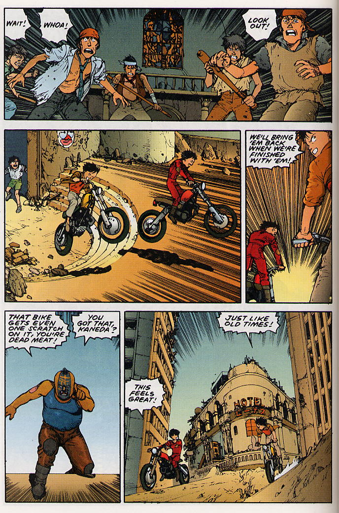 Read online Akira comic -  Issue #25 - 27