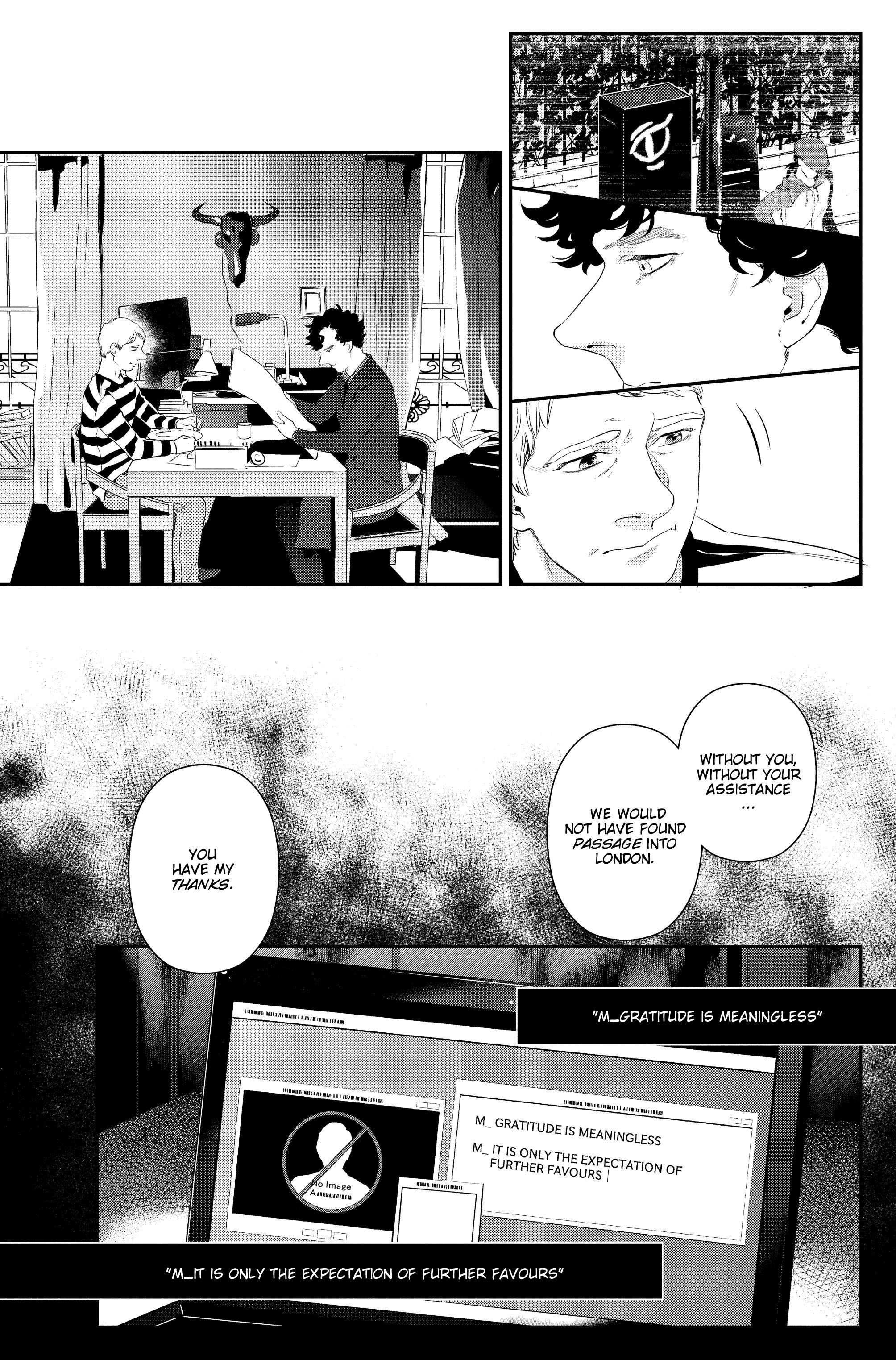 Read online Sherlock: The Blind Banker comic -  Issue #6 - 24