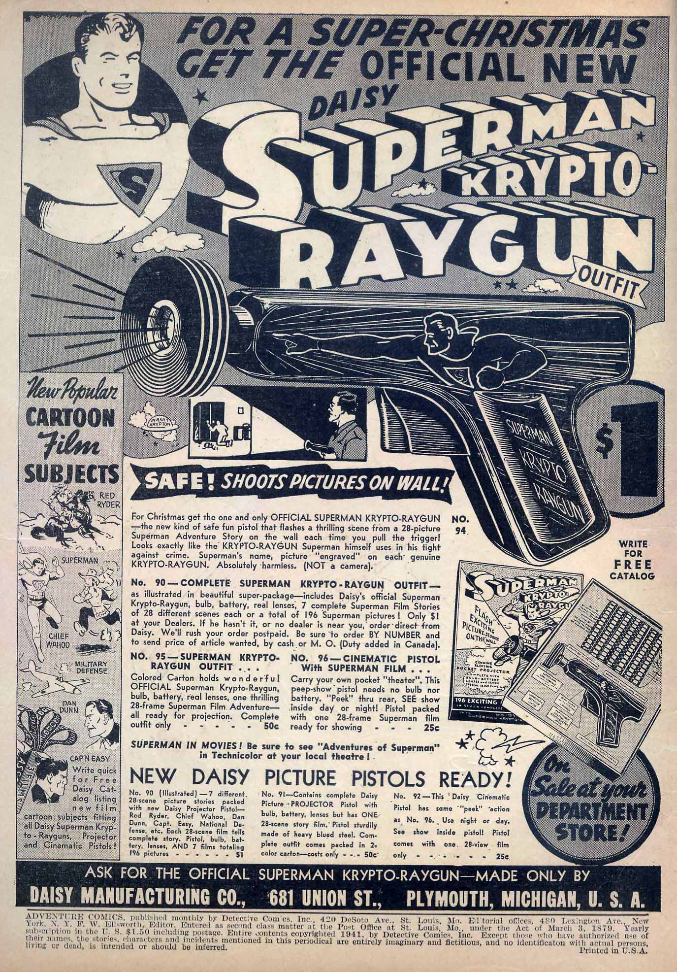 Read online Adventure Comics (1938) comic -  Issue #70 - 2