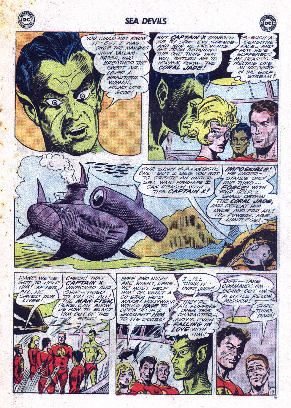 Read online Sea Devils comic -  Issue #22 - 19