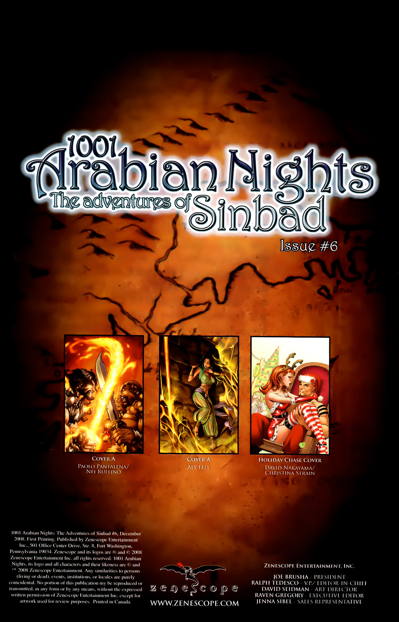 Read online 1001 Arabian Nights: The Adventures of Sinbad comic -  Issue #6 - 4