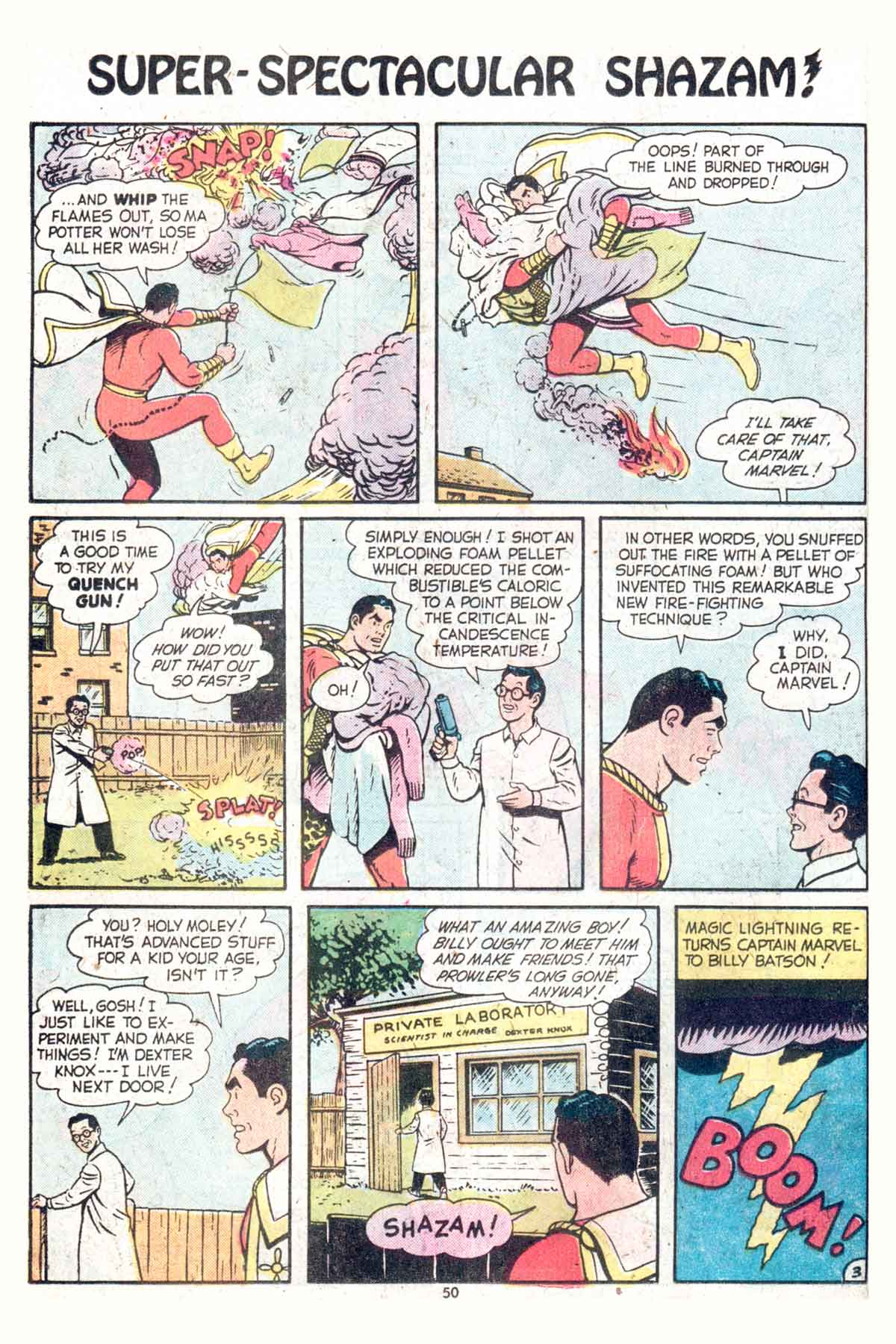 Read online Shazam! (1973) comic -  Issue #13 - 51