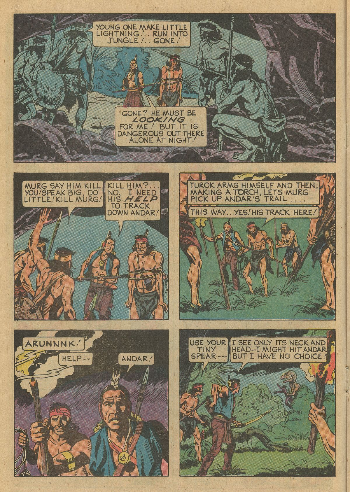 Read online Turok, Son of Stone comic -  Issue #109 - 16