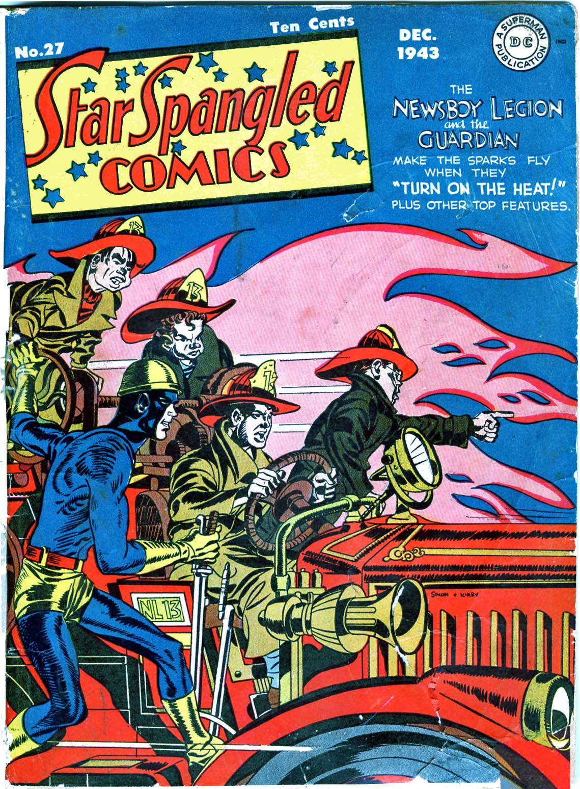 Star Spangled Comics (1941) issue 27 - Page 1