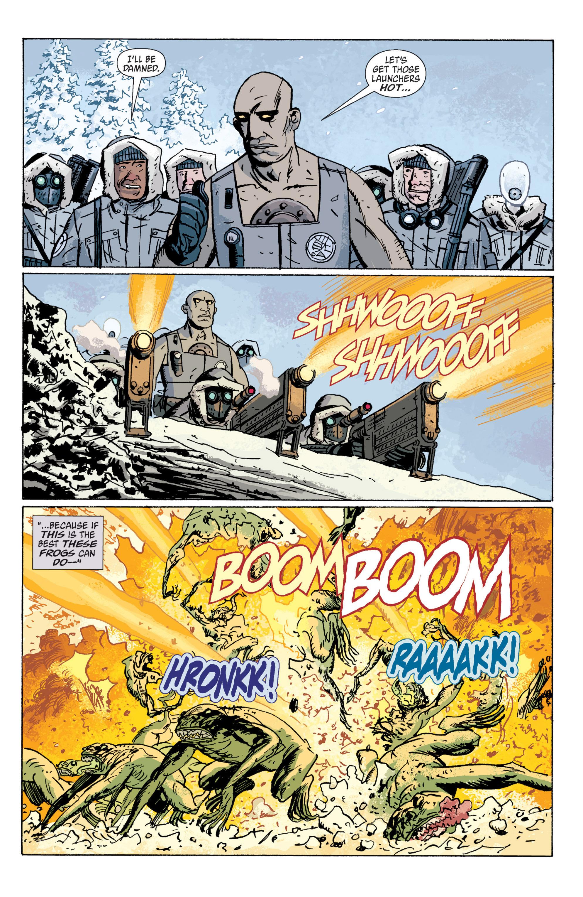 Read online B.P.R.D. (2003) comic -  Issue # TPB 5 - 46