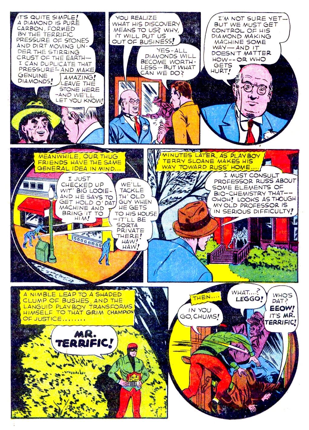 Read online Sensation (Mystery) Comics comic -  Issue #29 - 43
