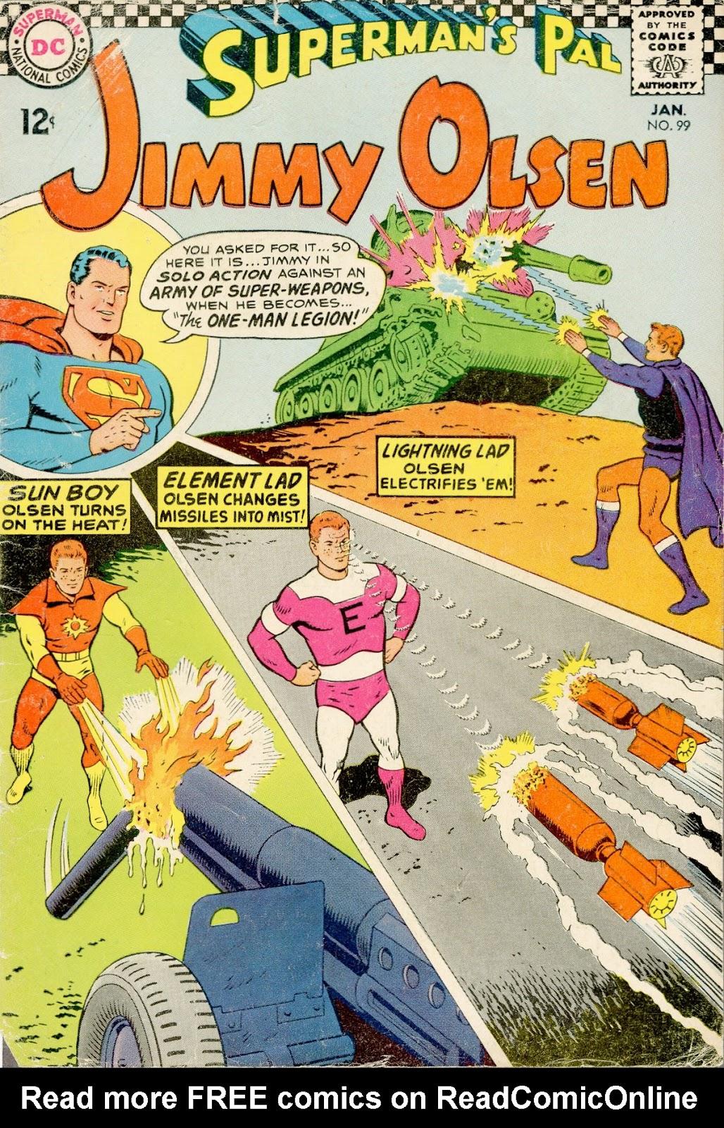Supermans Pal Jimmy Olsen (1954) 99 Page 1