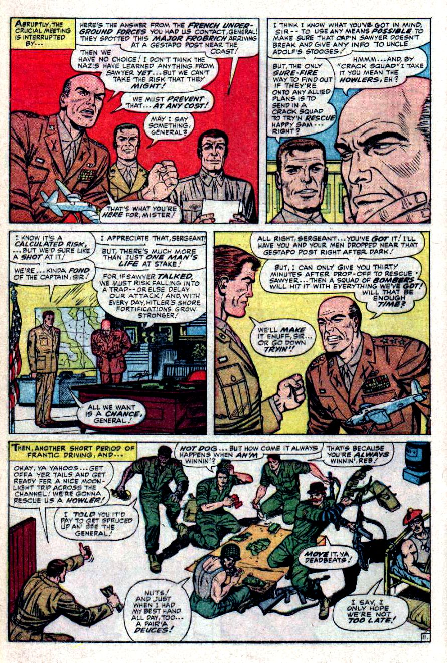 Read online Sgt. Fury comic -  Issue #31 - 16