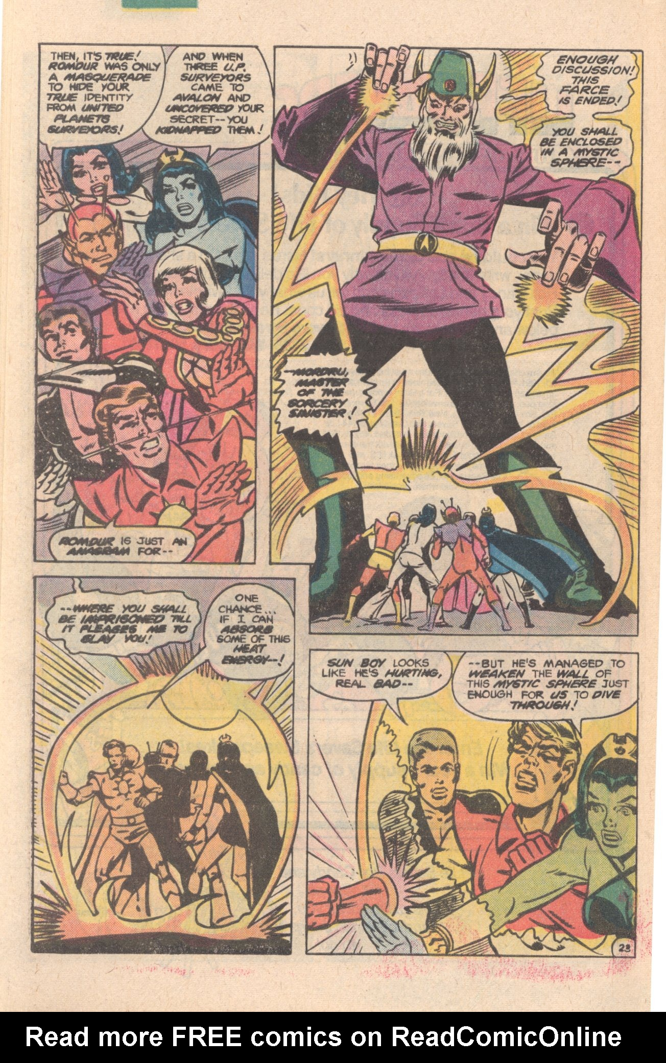 Legion of Super-Heroes (1980) 276 Page 23