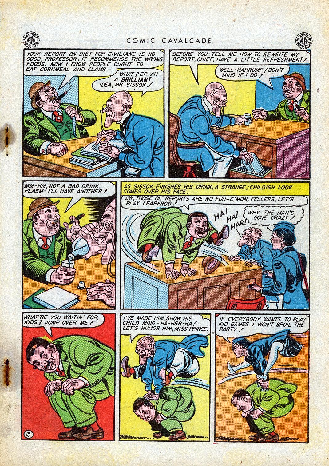 Comic Cavalcade issue 10 - Page 5