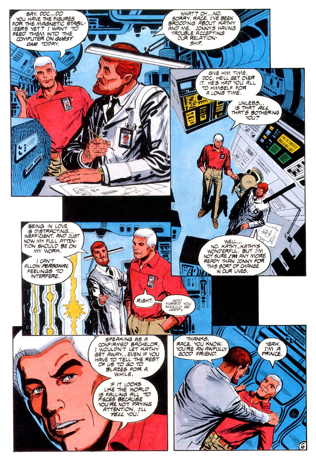 Jonny Quest (1986) issue 12 - Page 9