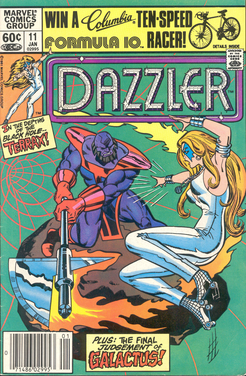 Dazzler (1981) 11 Page 1