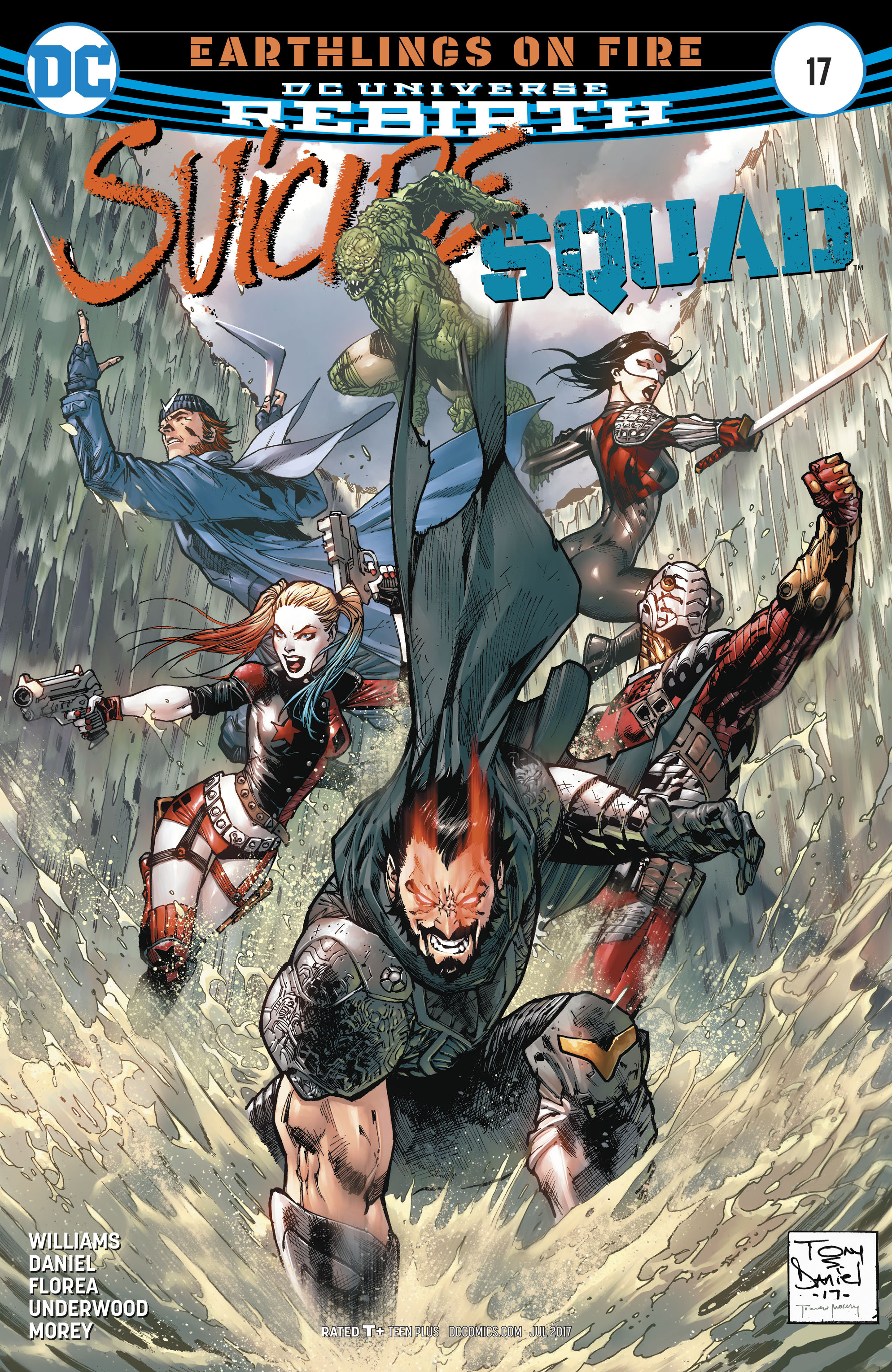 Read online Suicide Squad (2016) comic -  Issue #17 - 1