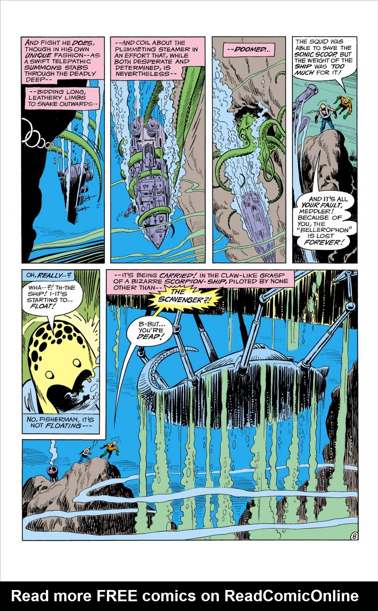 Read online Aquaman (1962) comic -  Issue #59 - 9
