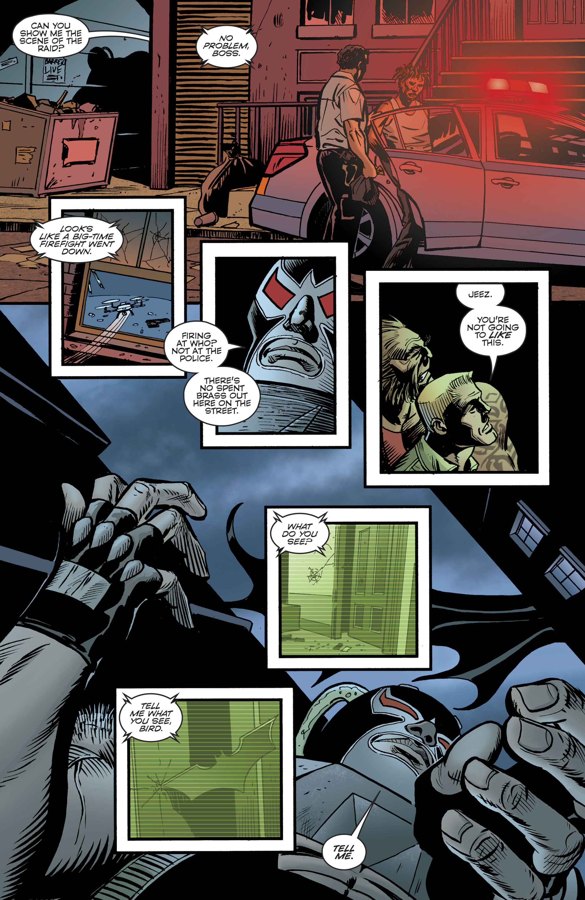 Read online Bane: Conquest comic -  Issue #1 - 16