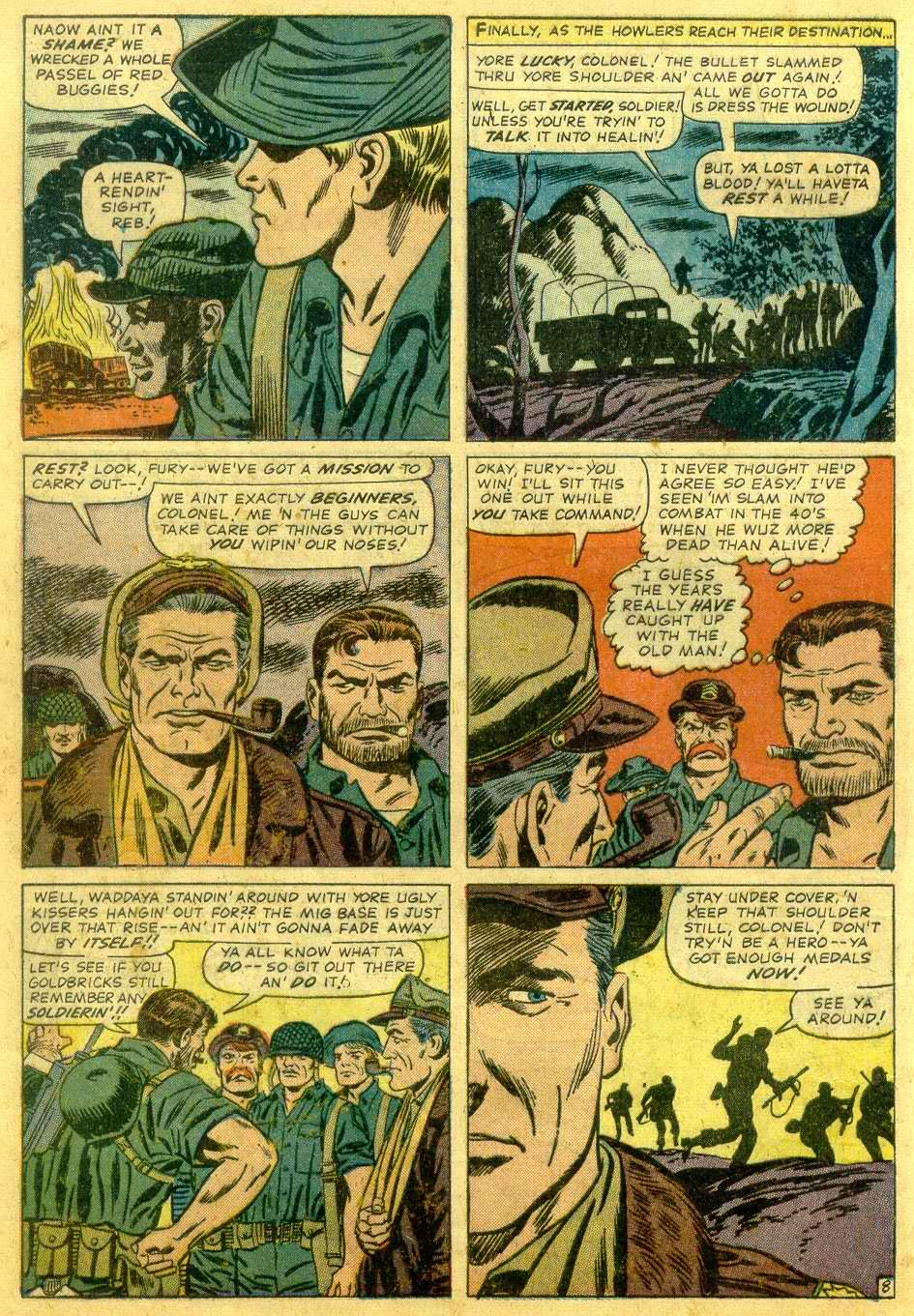 Read online Sgt. Fury comic -  Issue # _Annual 1 - 10