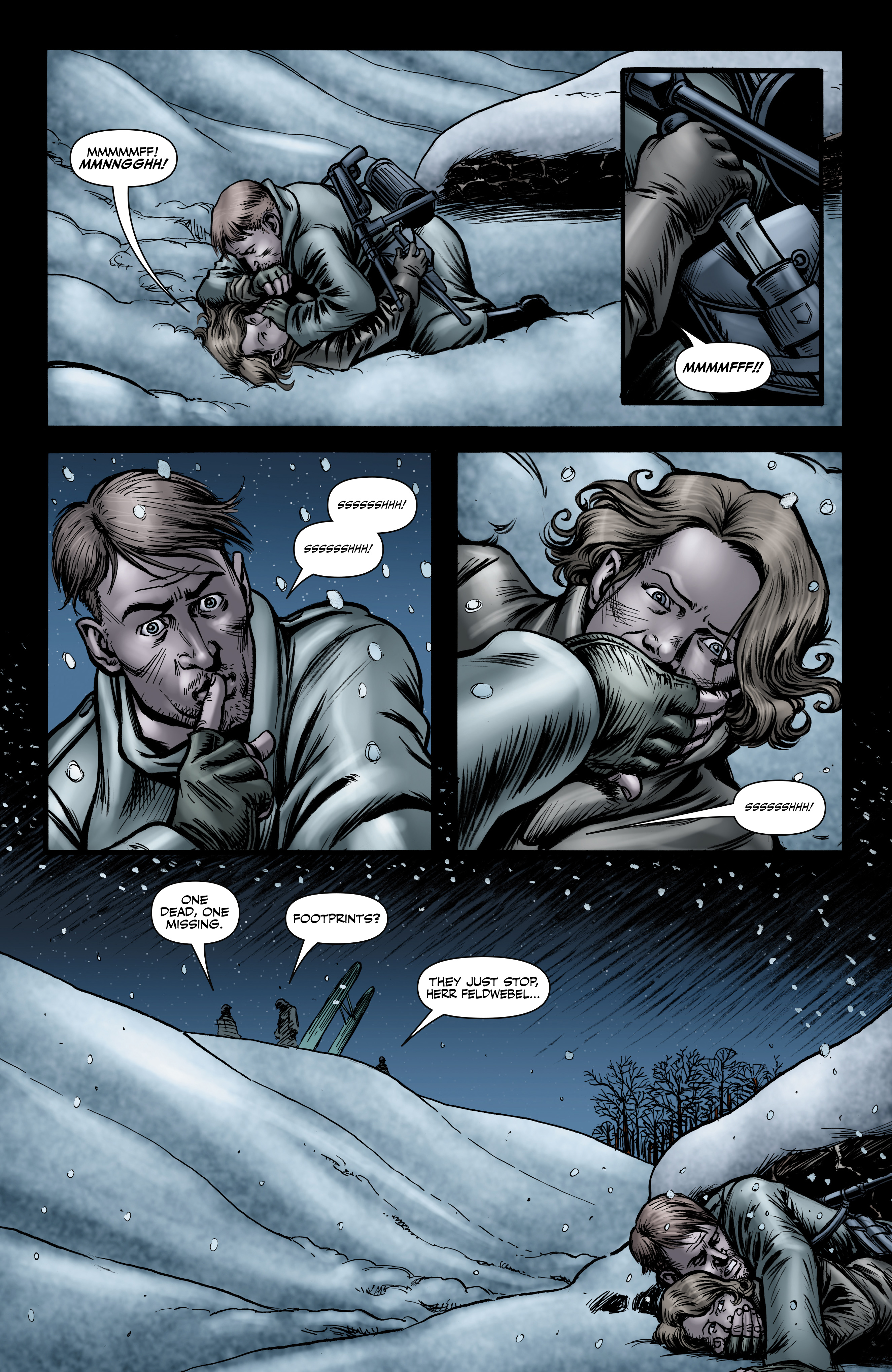 Read online Battlefields: Night Witches comic -  Issue # TPB - 66