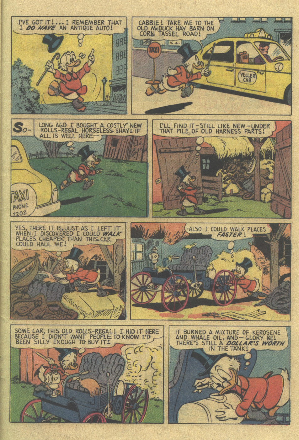 Read online Uncle Scrooge (1953) comic -  Issue #120 - 21