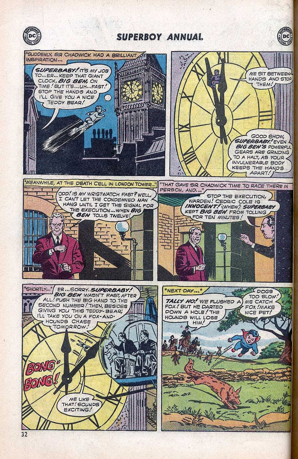 Superboy (1949) issue Annual 1 - Page 34
