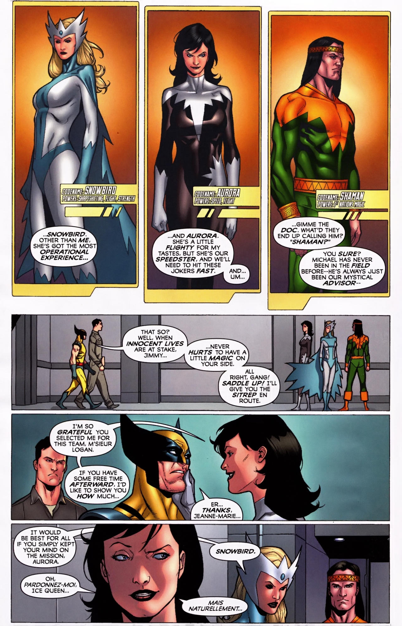 Read online Wolverine: First Class comic -  Issue #5 - 5