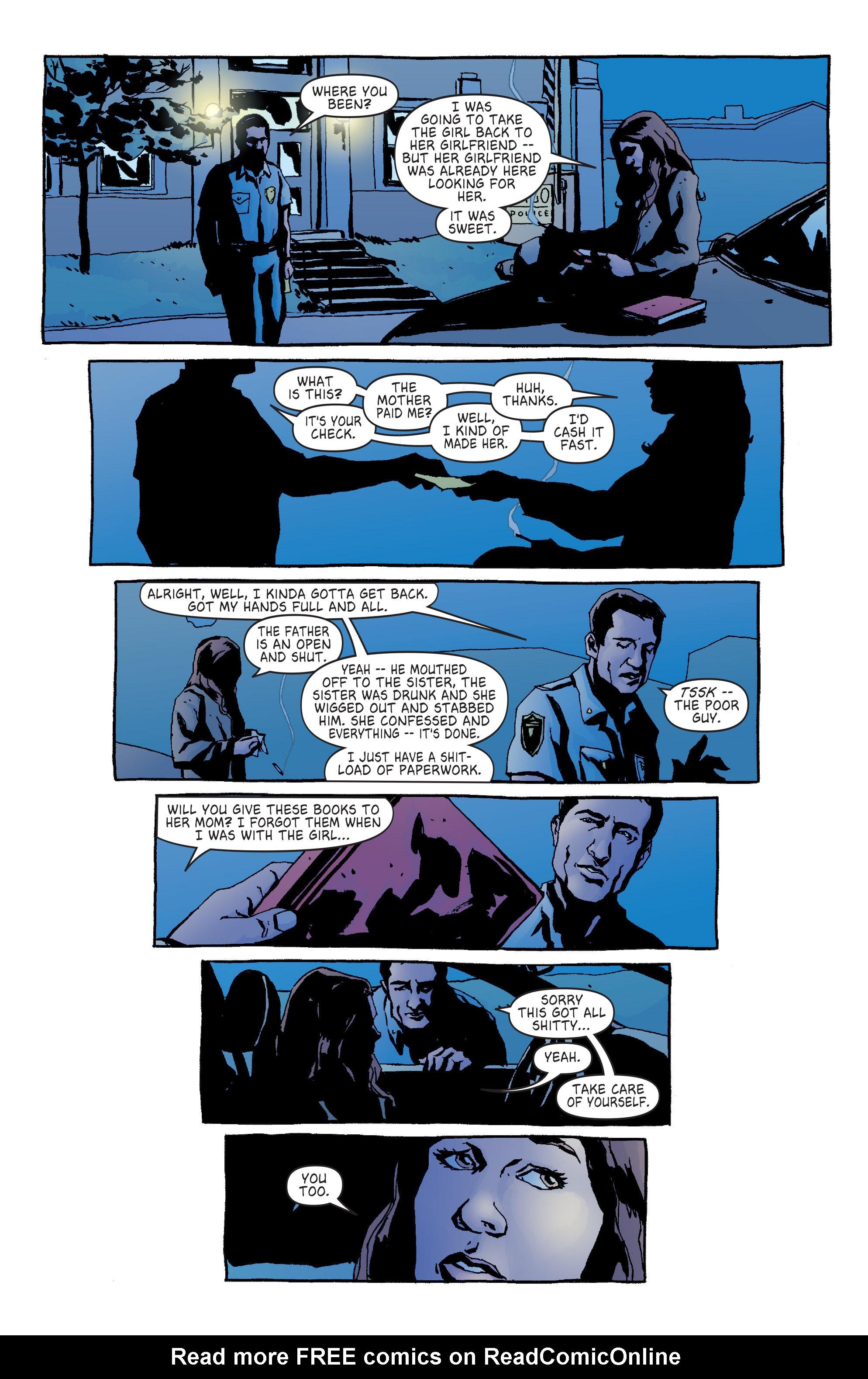 Read online Alias comic -  Issue #14 - 21