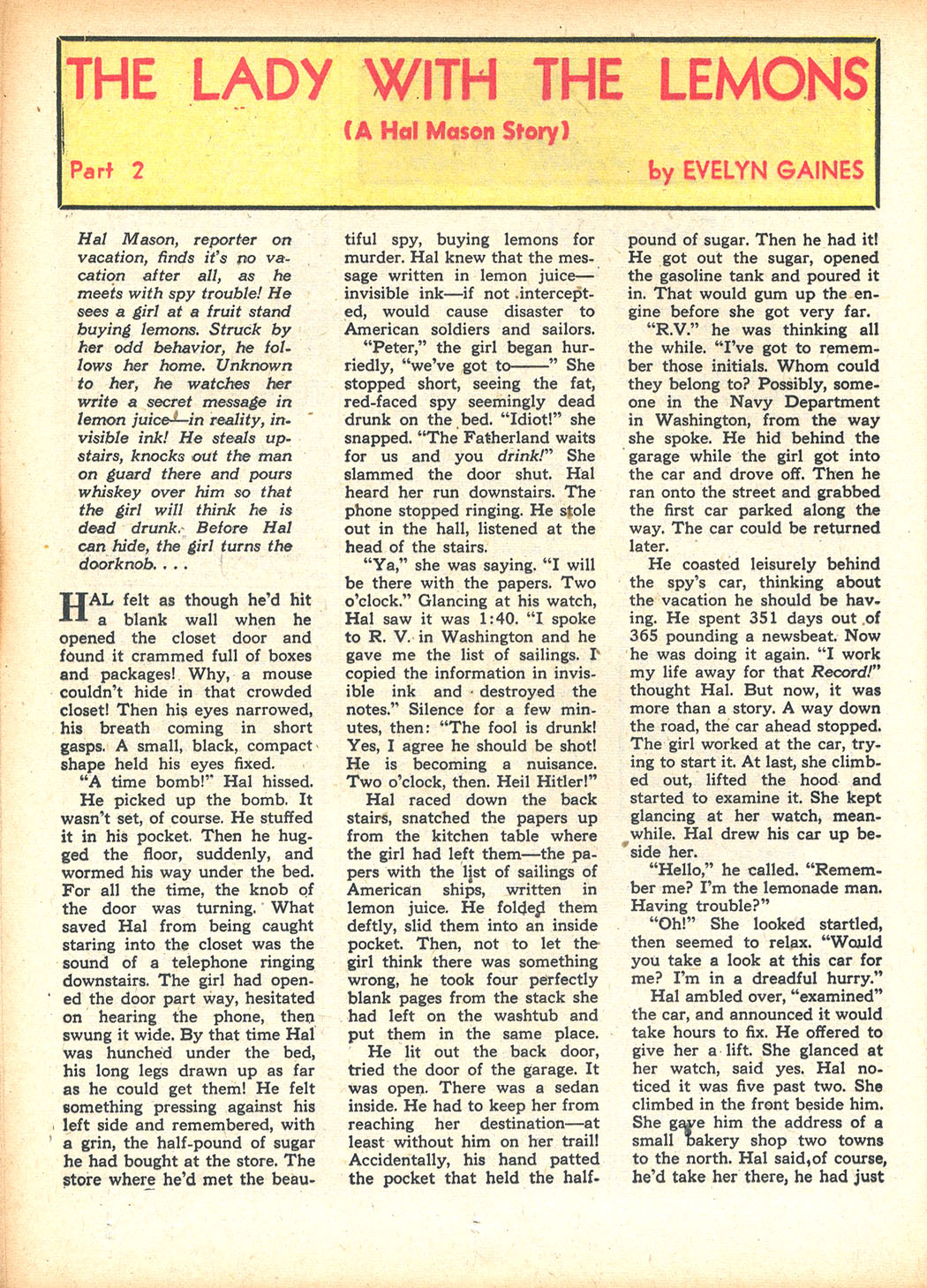 Read online Sensation (Mystery) Comics comic -  Issue #13 - 44