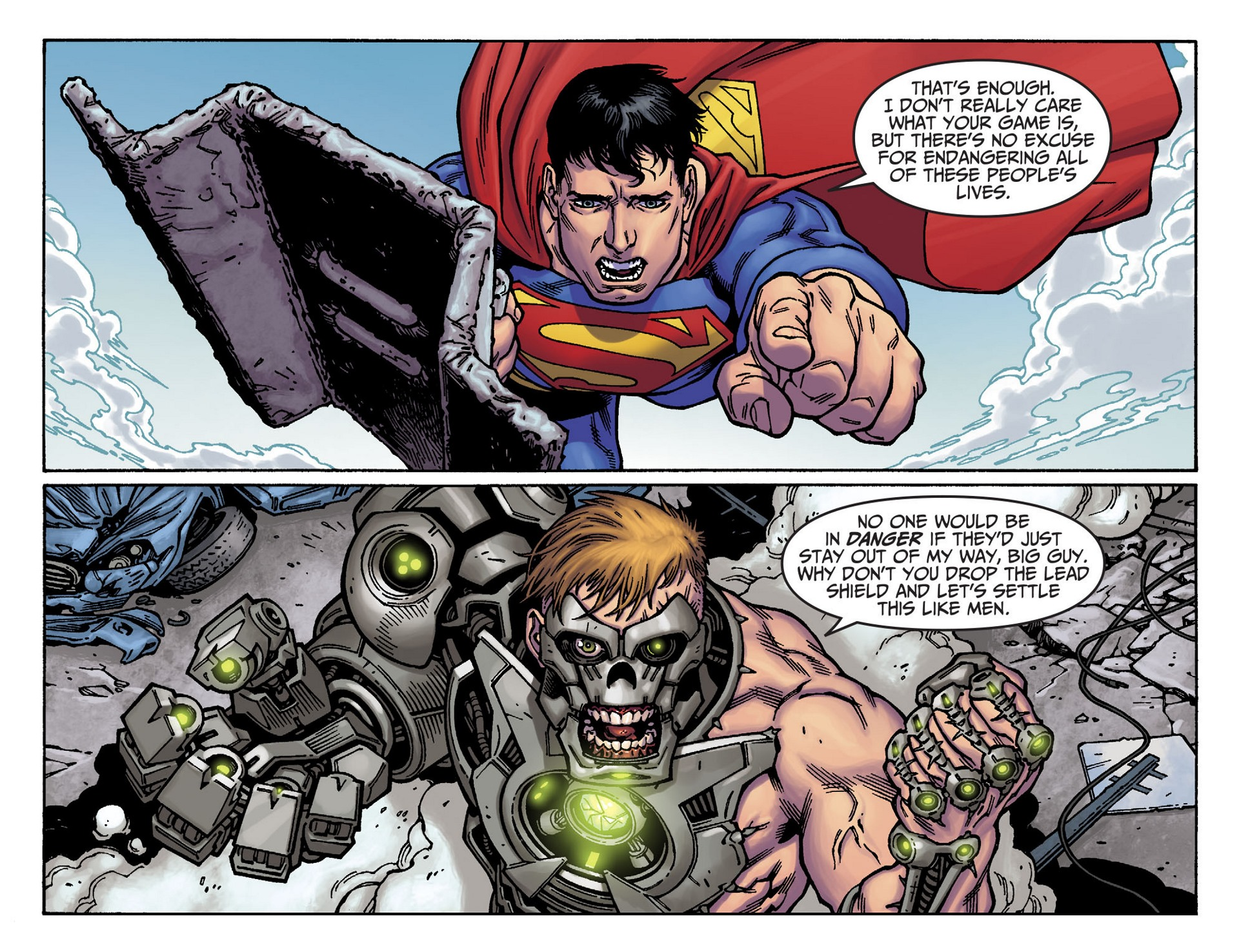 Read online Adventures of Superman [I] comic -  Issue #37 - 3